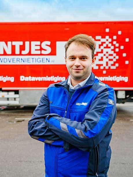 jeffrey-meinert-brantjes-data-vernietiging-vrachtwagen