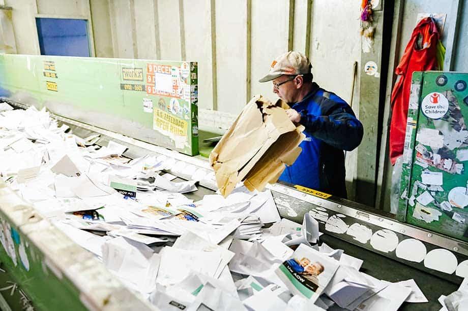 papiervernietiger-sorteren-sorteerzolder