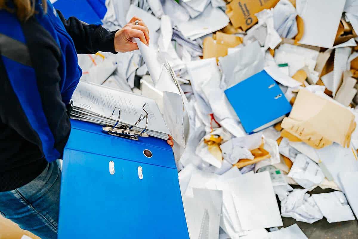 Vertrouwelijk papier vernietigen voor particulieren