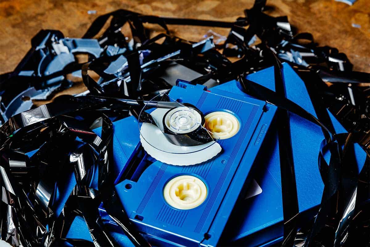 Hoe en waarom tapes vernietigen