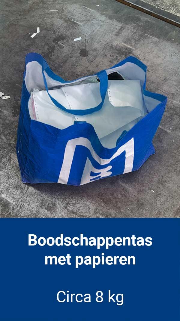 volle-boodschappentas-met-vertrouwelijk-papier